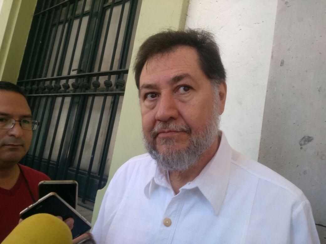 Yunes Linares es un criminal peligroso: Fernández Noroña