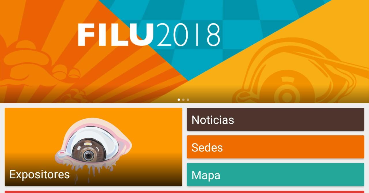 Este viernes inicia la FILU 2018, y ya puedes descargar su app