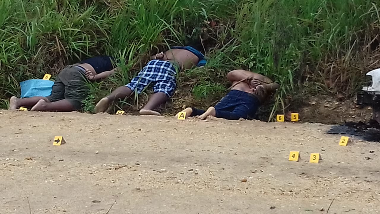 Jueves rojo en Veracruz: seis personas fueron ejecutadas