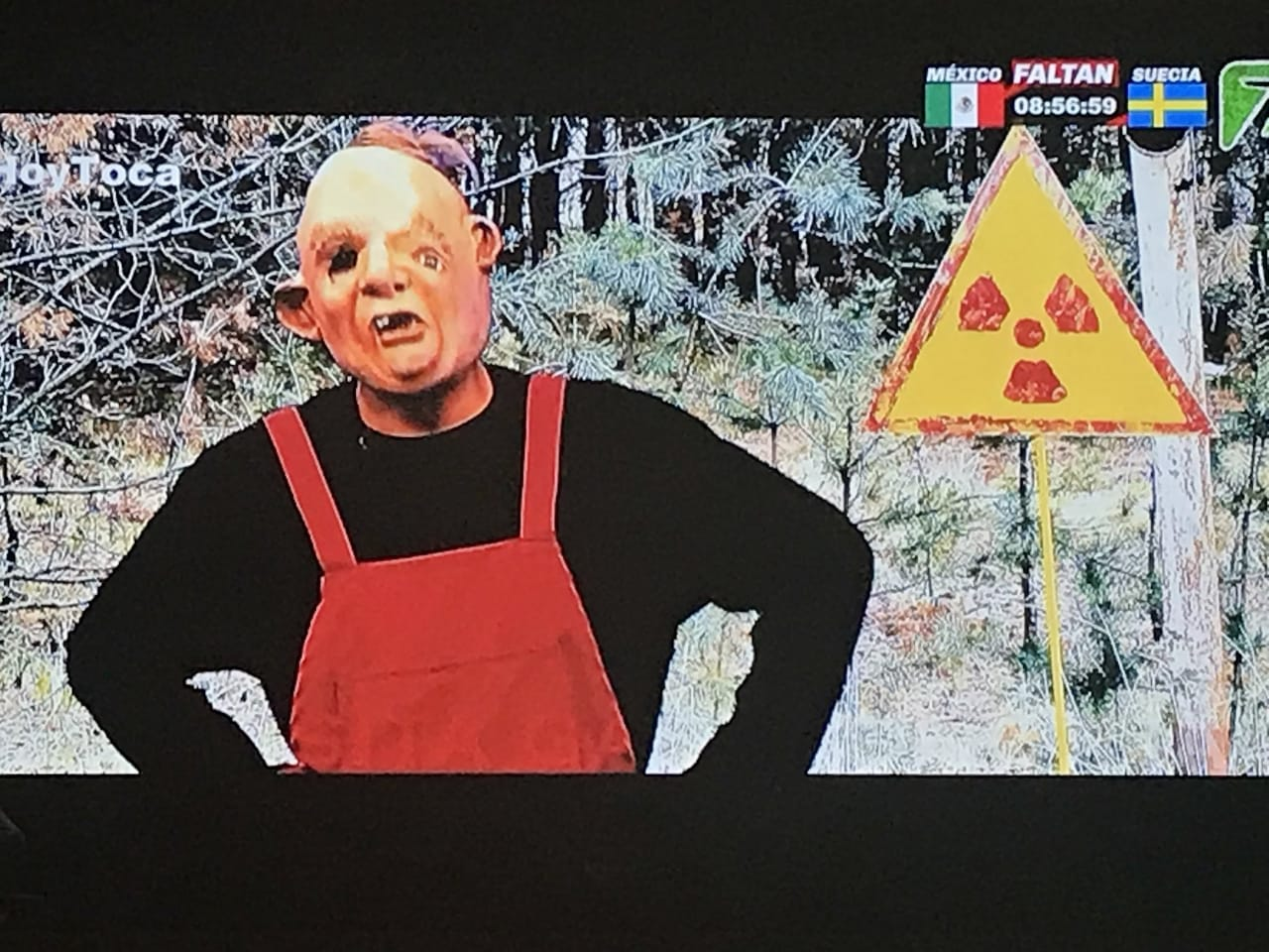 Las redes explotan contra sketch de Tv Azteca sobre Chernobyl