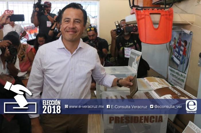 Efecto AMLO cimbra Veracruz: Cuitláhuac gana gubernatura
