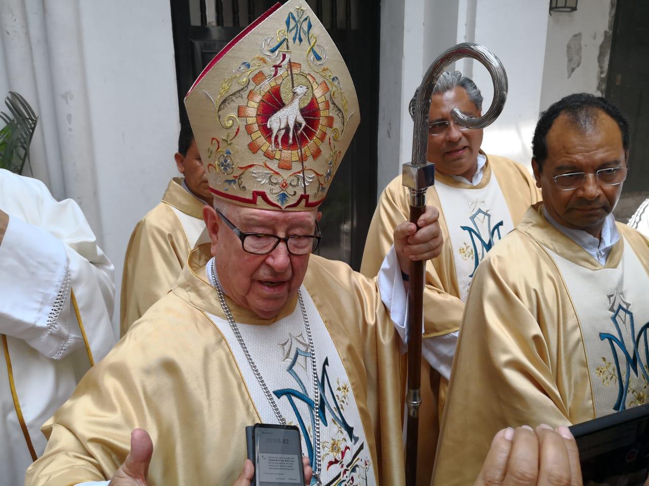 Cardenal Obeso señala a víctimas de pederastia, tienen