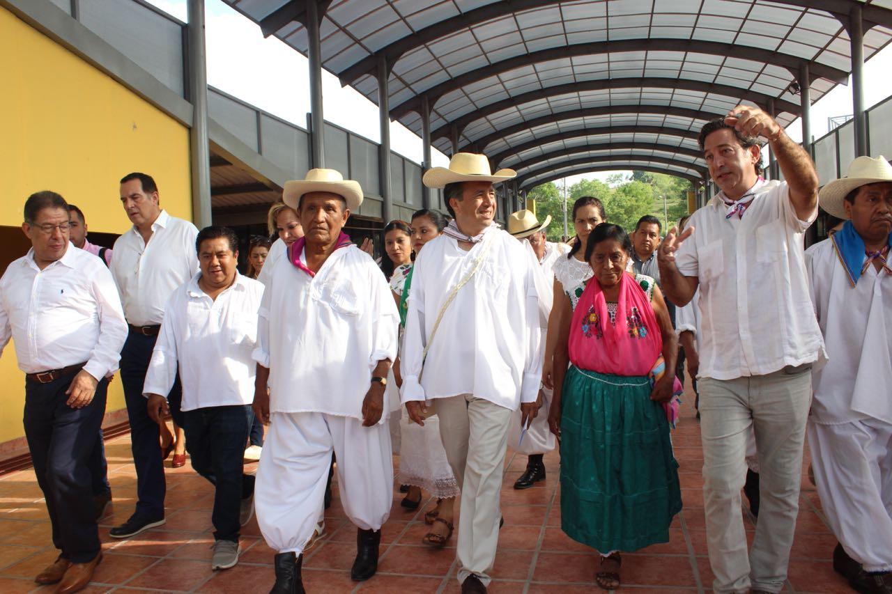 Cuitláhuac propone mudar conciertos de Cumbre Tajín a Costa Esmeralda