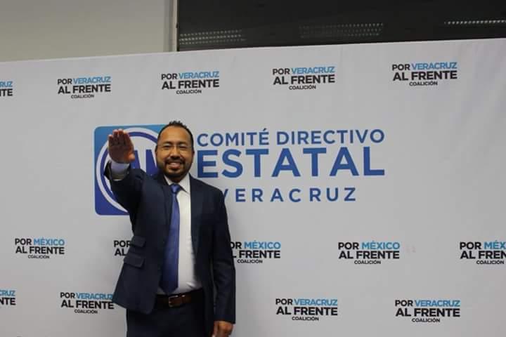 PAN Veracruz designa a Omar Miranda como presidente interino