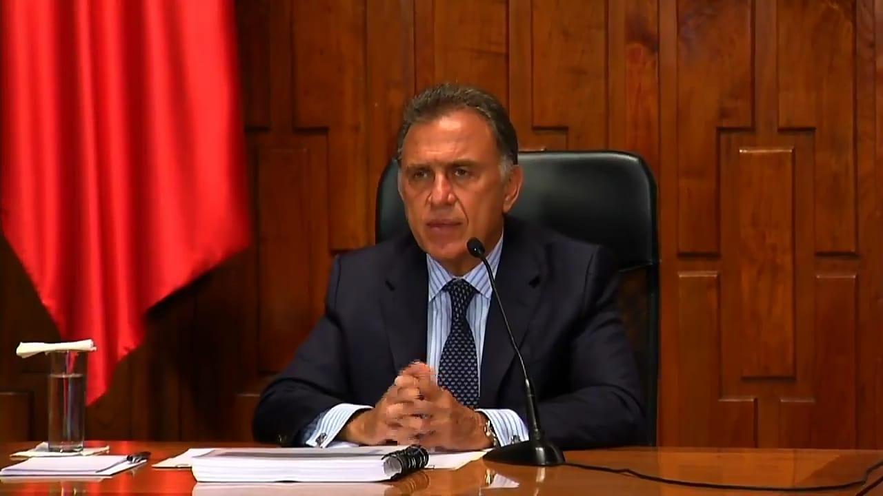 Yunes asegura que bienes recuperados de Duarte se fueron a Salud y Seguridad