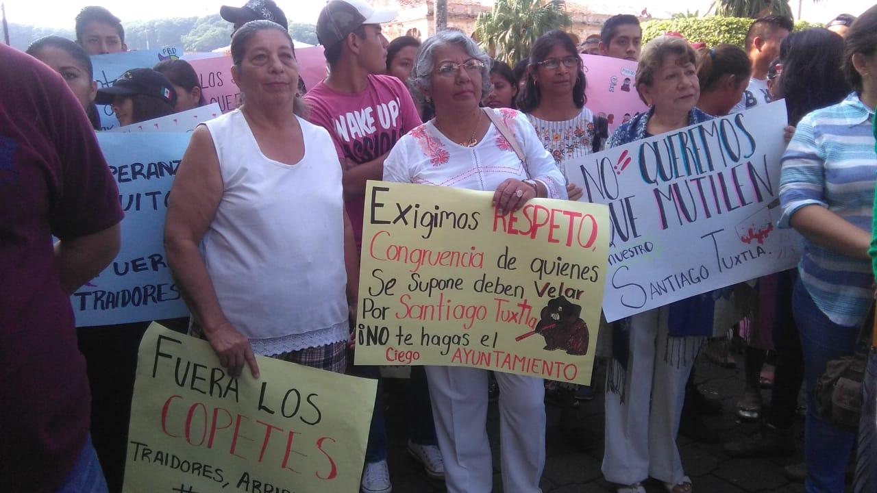 #NoAl213 : Protestan contra propuesta de convertir Tres Zapotes en municipio