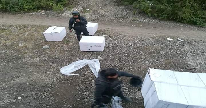Policías frustran asalto a tren de carga en Acultzingo