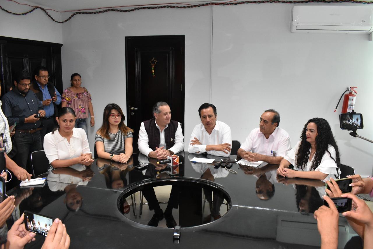 Cuitláhuac pide a diputados federales impulsar Guardia Nacional de AMLO