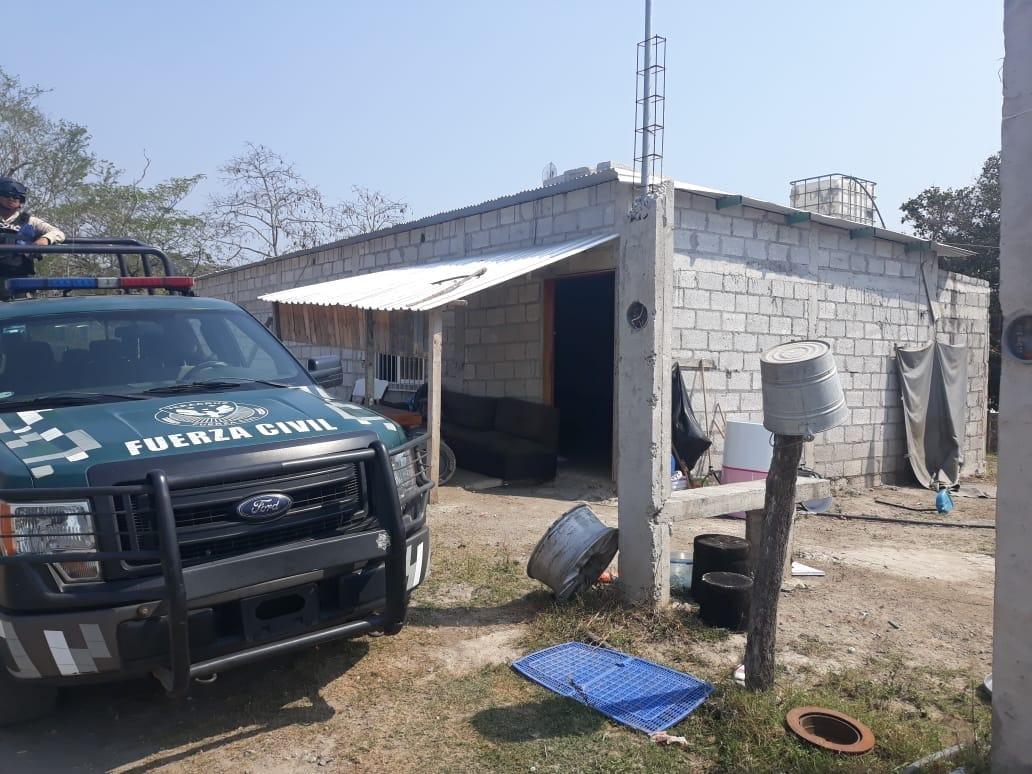 Encuentran dos casas de seguridad en Tlalixcoyan, serían del CJNG