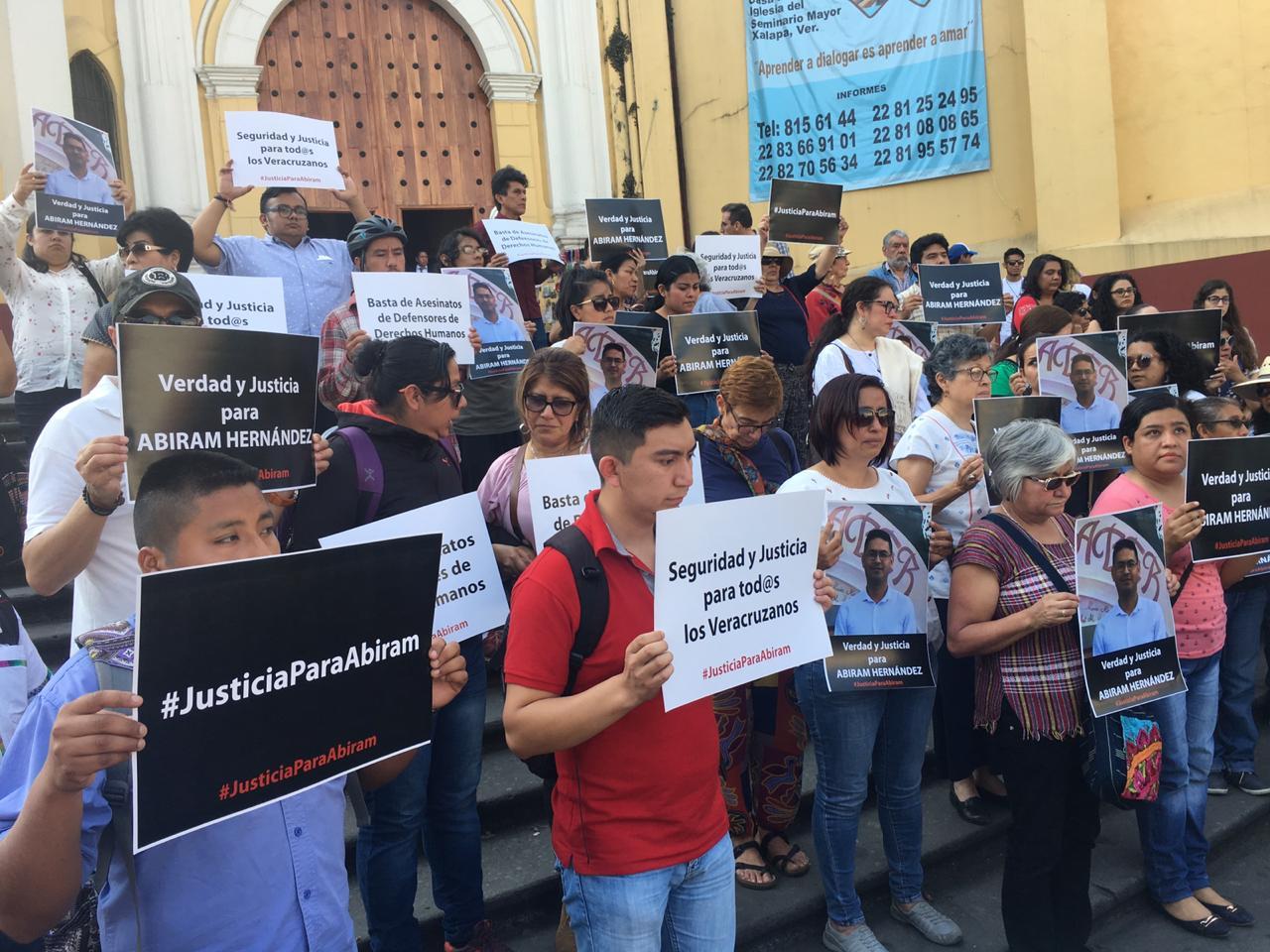UV justicia y esclarecimiento del asesinato de Abiram Hernández