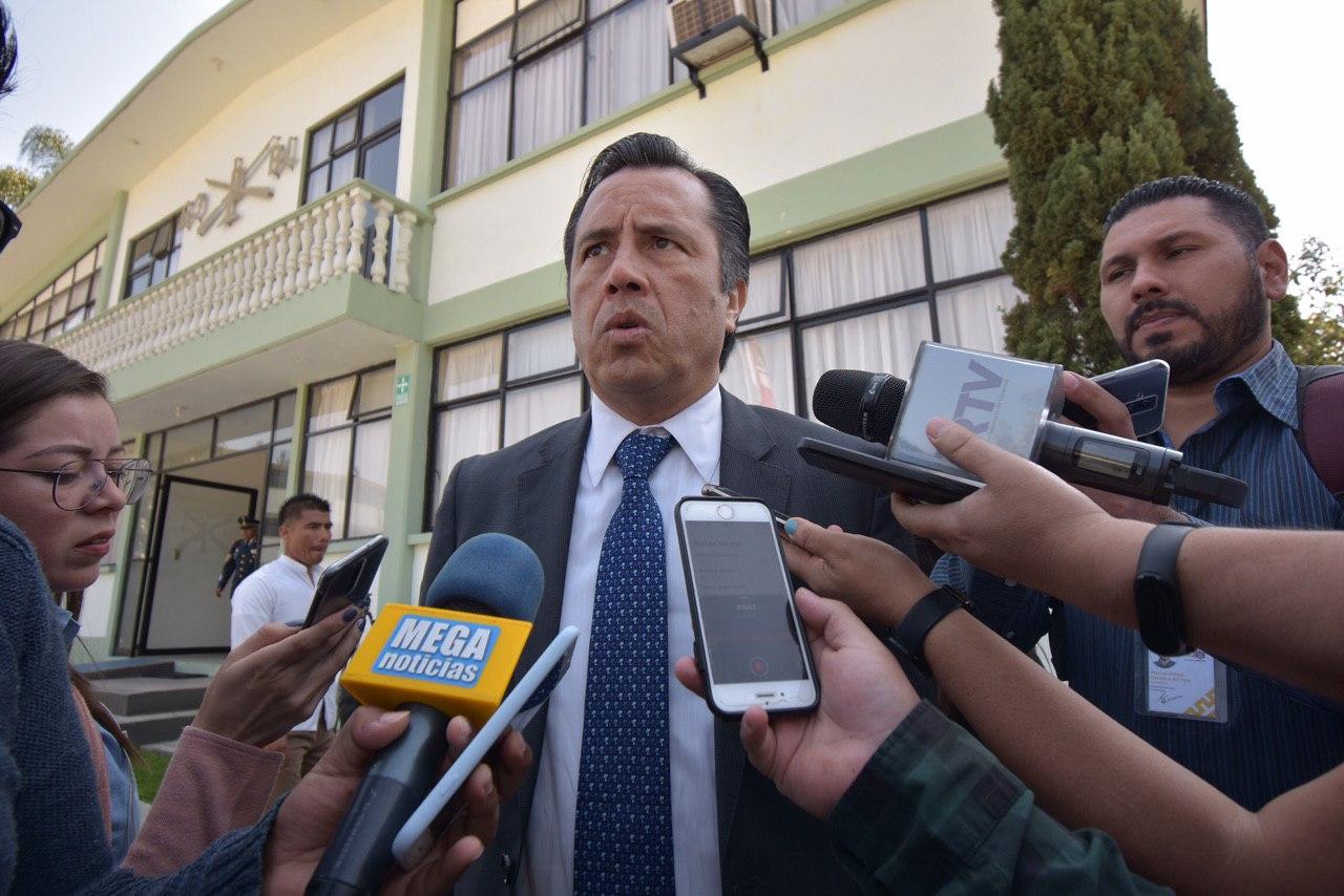 Fiscal no está invitado a reunión de seguridad con AMLO: Cuitláhuac