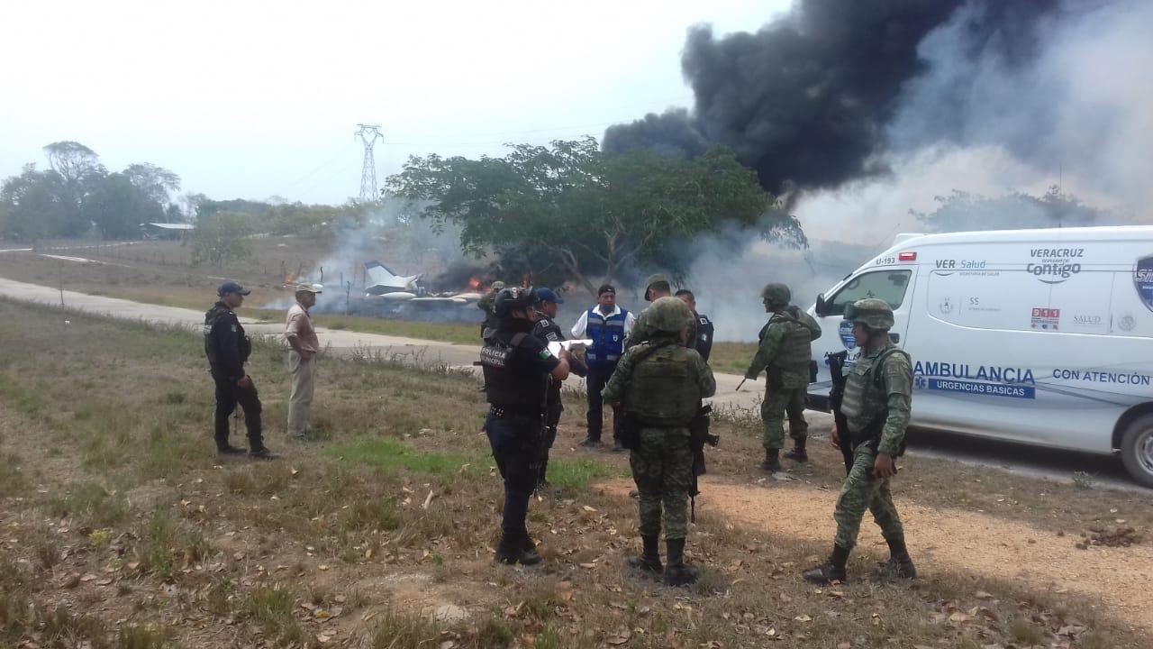 Fuerza Aérea perseguía avioneta de Tres Valles, tripulantes huyeron: SSP