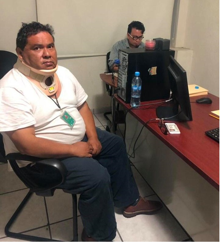 Tras enfrentamiento liberan a reportero Marcos Miranda