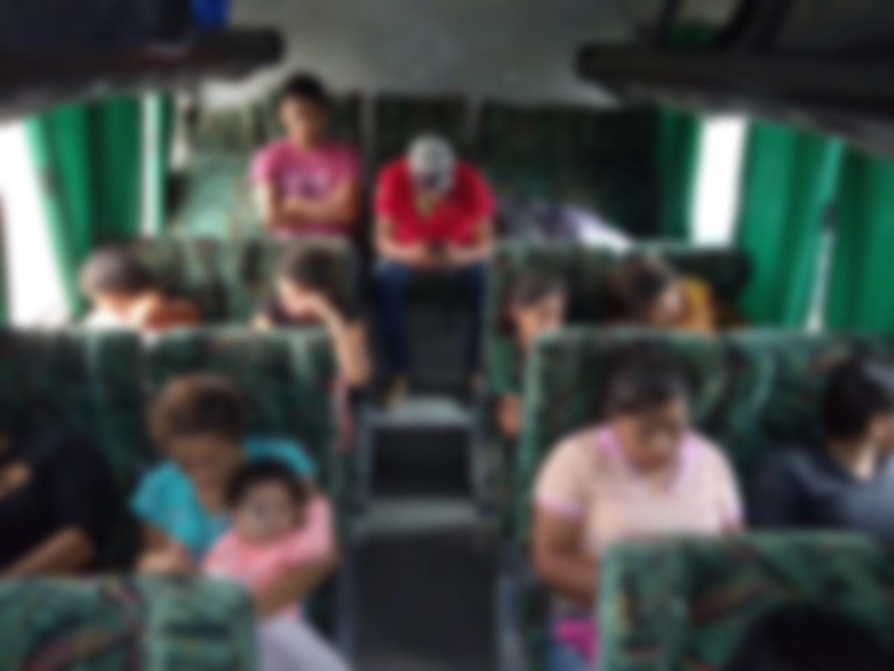 930 migrantes asegurados en 12 días en Veracruz