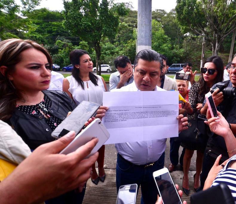 Ante Fiscalía denuncia Presidente Estatal del PRI extorsión a alcaldes