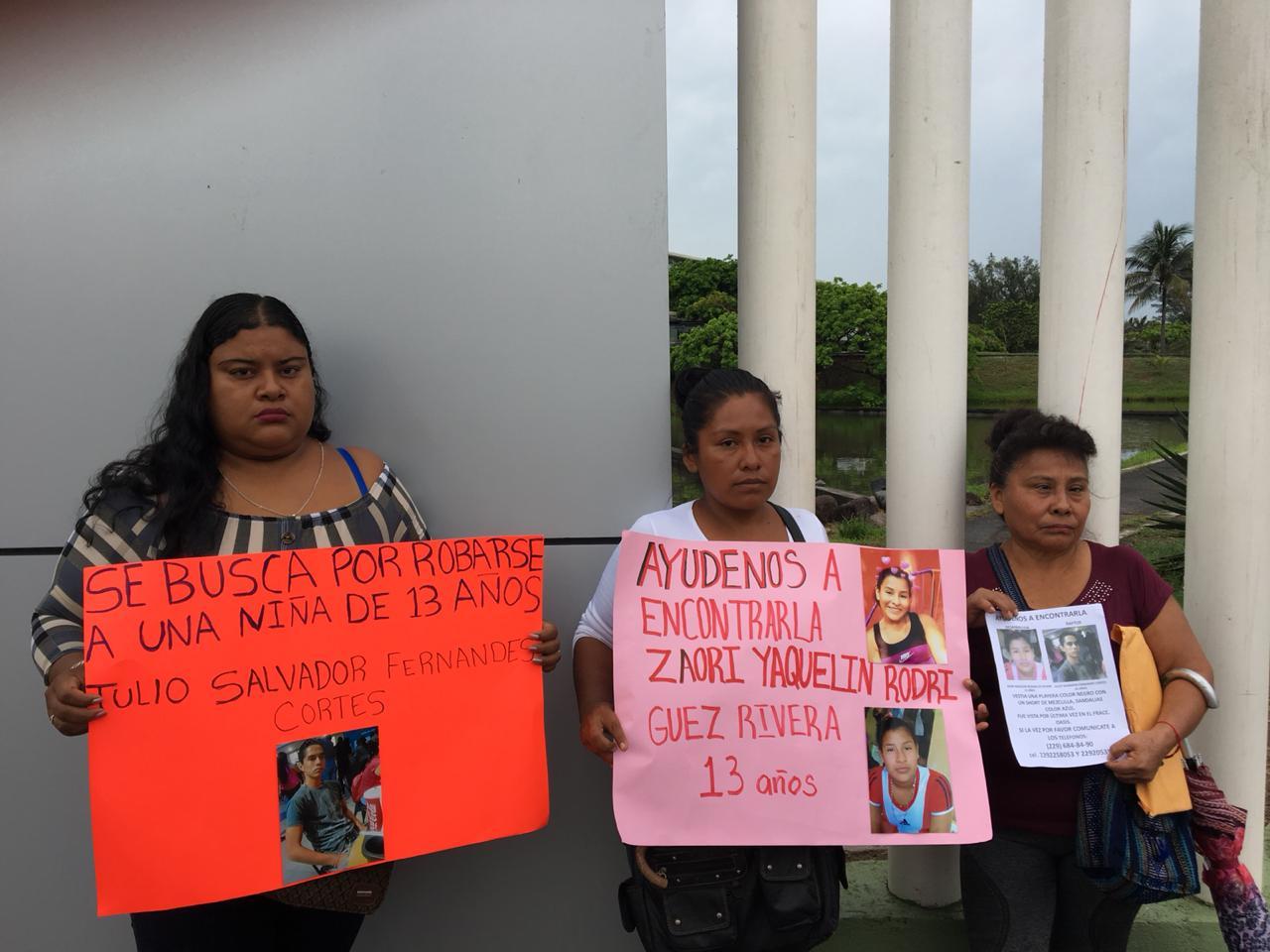 Fiscalía niega Alerta Amber a familia de menor desaparecida