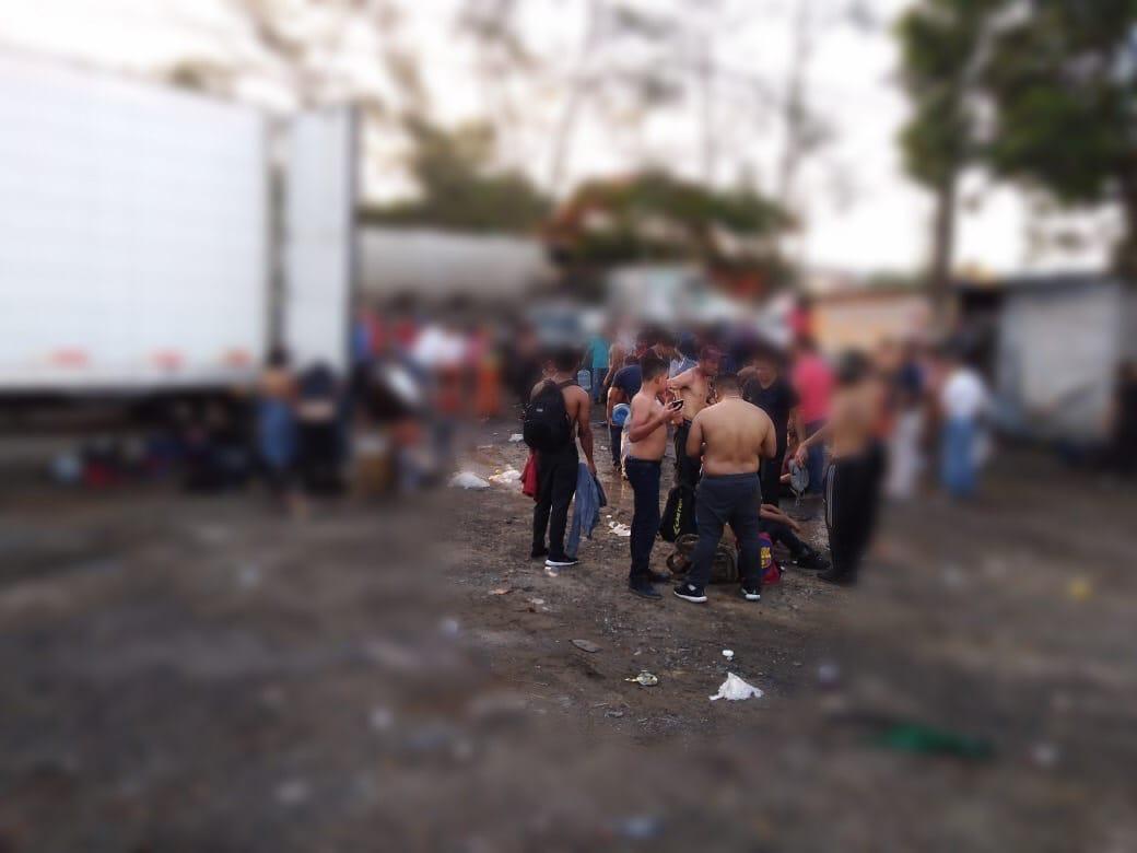 Redada masiva en Veracruz: aseguran a 432 migrantes en una tarde