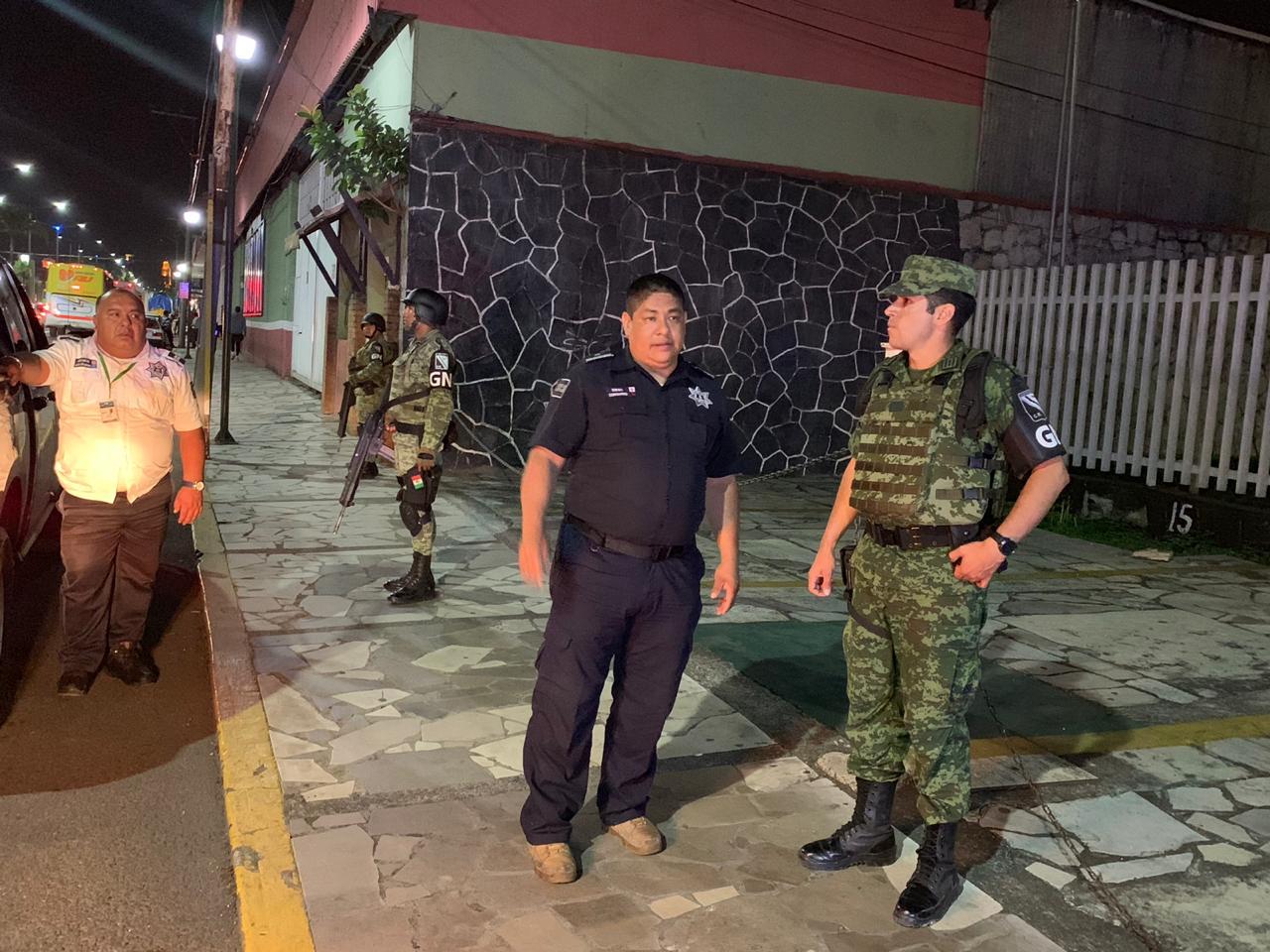 Reciben a Guardia Nacional en Río Blanco con secuestro