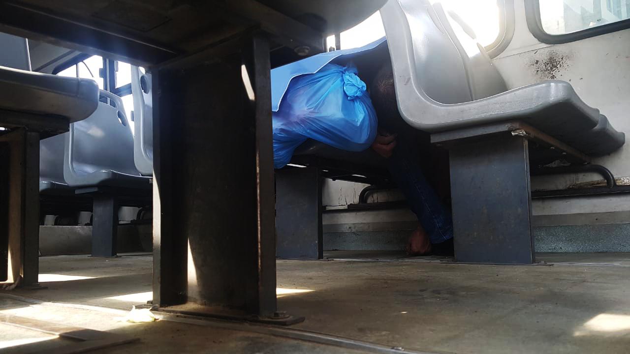 Fallece hombre a bordo de autobús de pasajeros en Veracruz