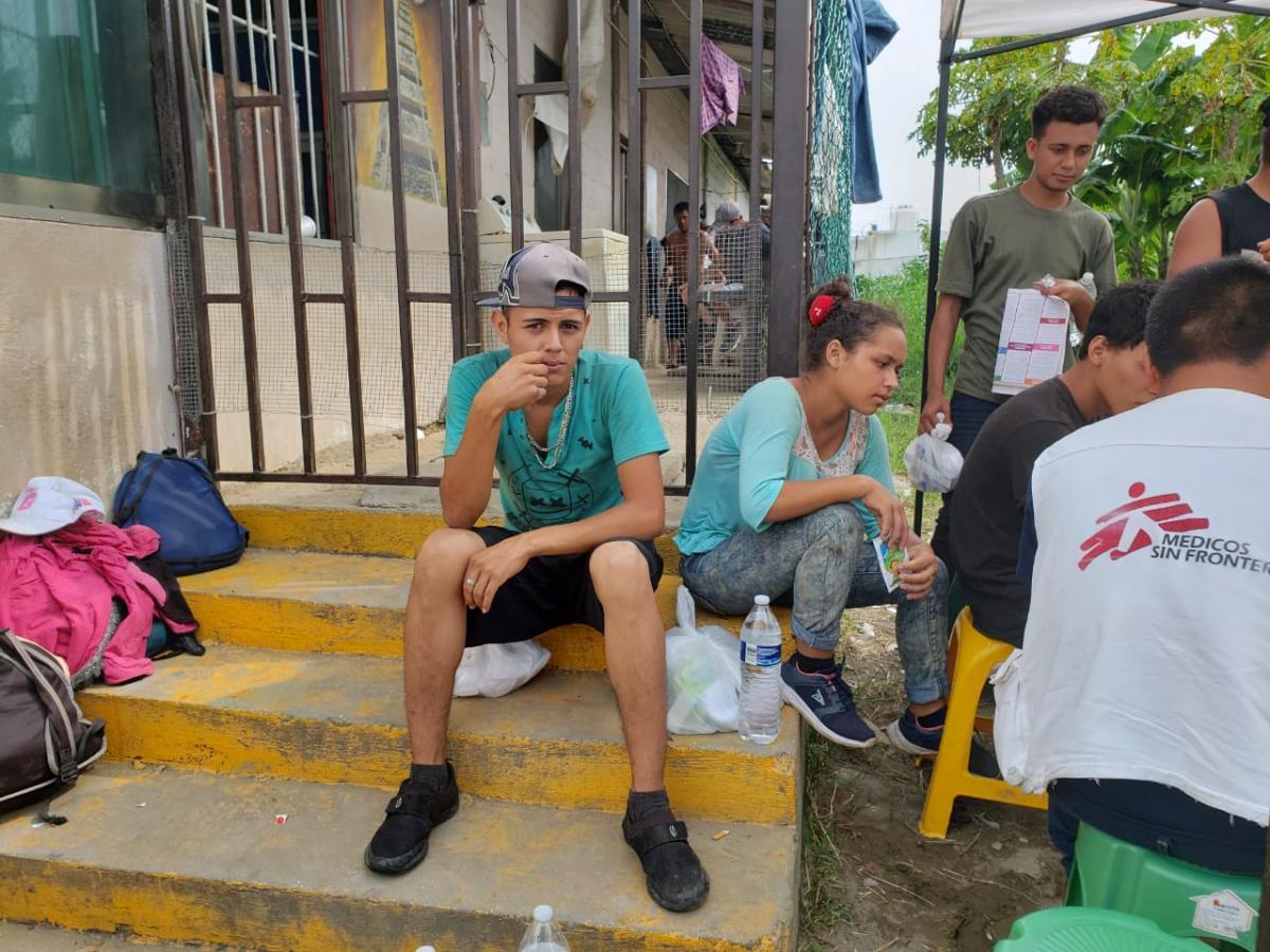 Guardia Nacional irrumpe arbitrariamente en albergue de migrantes en Veracruz