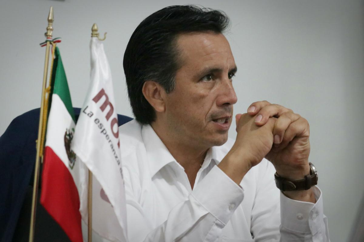 Yunes pactaba con el Cartel de Jalisco, acusa Cuitláhuac