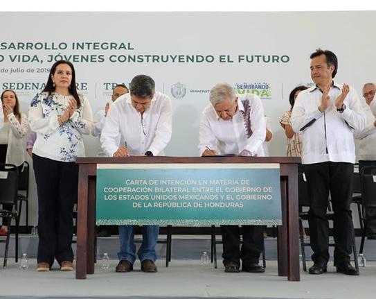 Mexico promete 20 mil empleos para hondureños