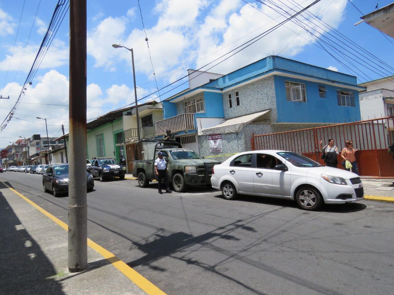 Catean casa de seguridad en Orizaba