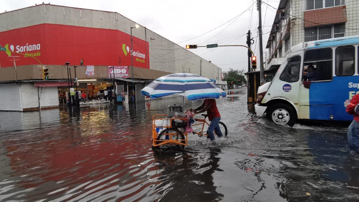 6 Claves que explican las inundaciones en el Puerto de Veracruz