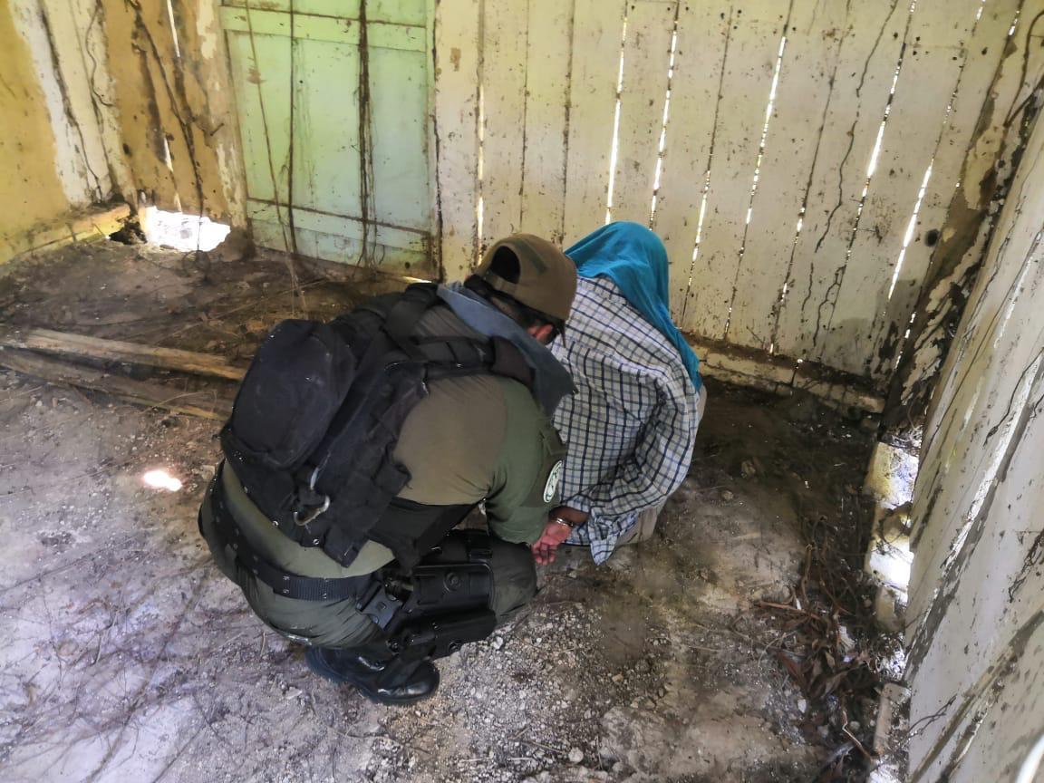 Liberan a secuestrado, estaba en cabaña abandonada en Cazones