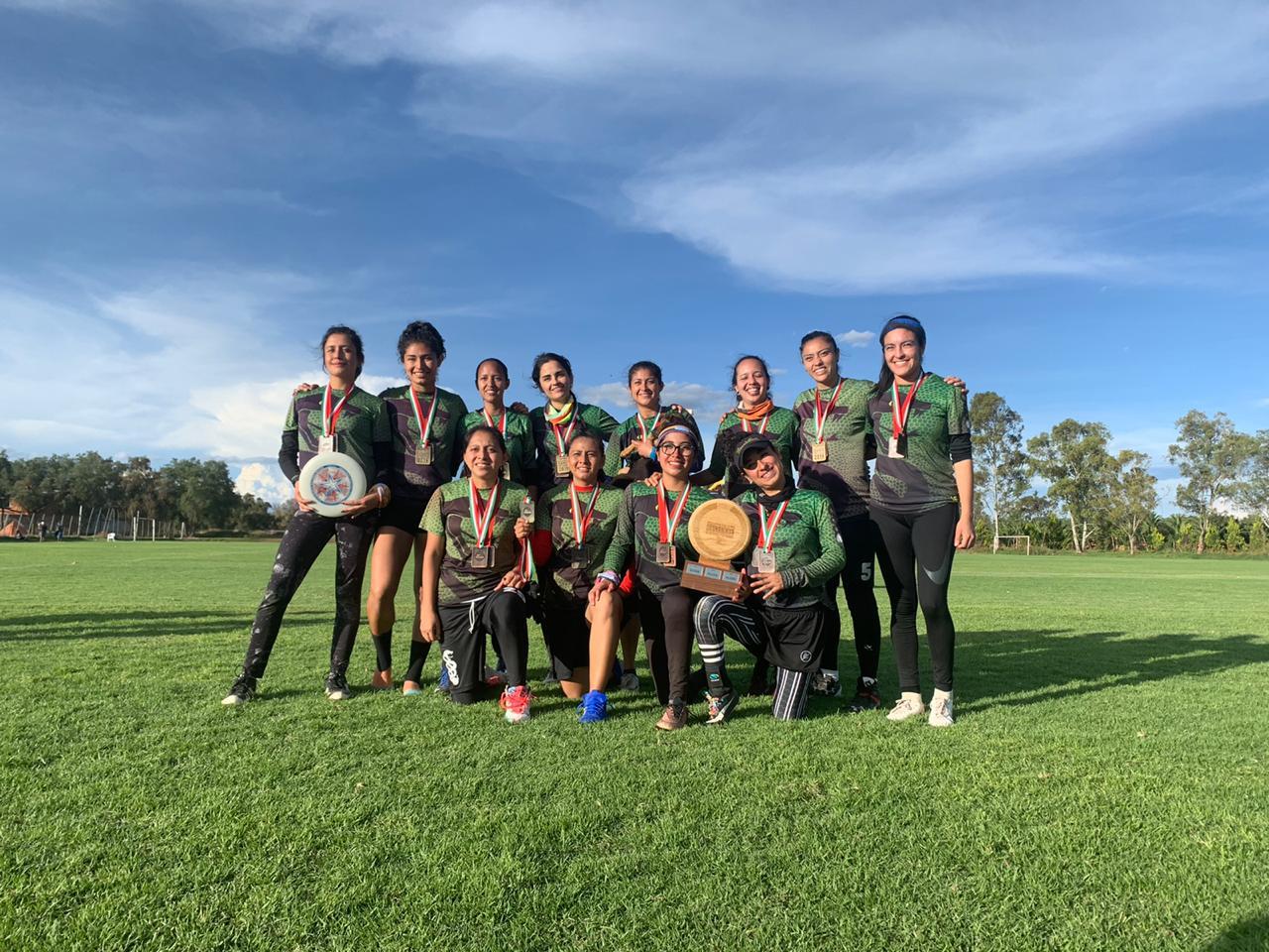 Es de Xalapa, el mejor equipo del país de Ultimate Frisbee