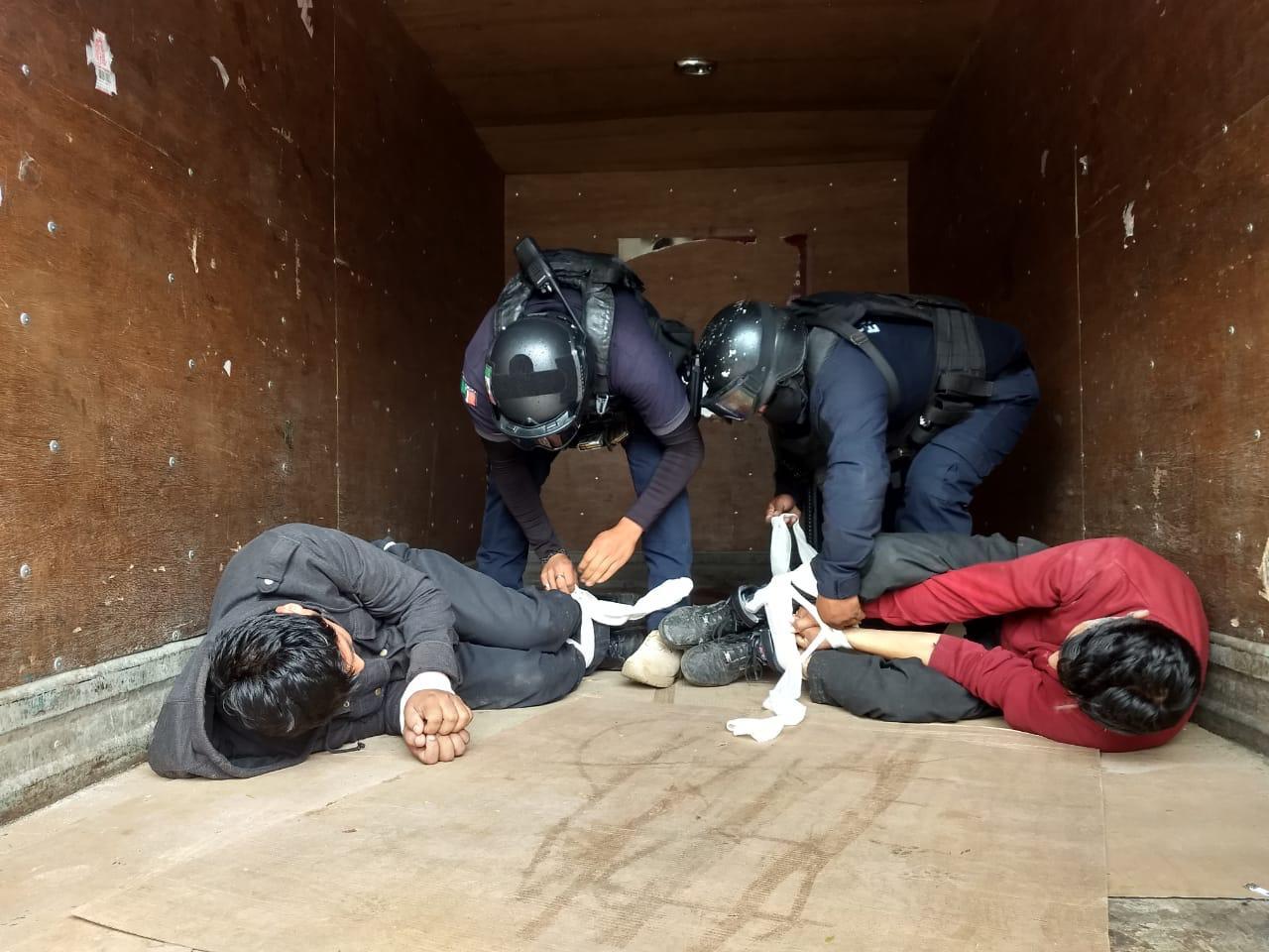Rescatan a dos secuestrados en Ixtaczoquitlán