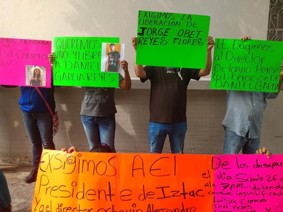 Con marcha, exigirán localización de comerciantes de Ixtac