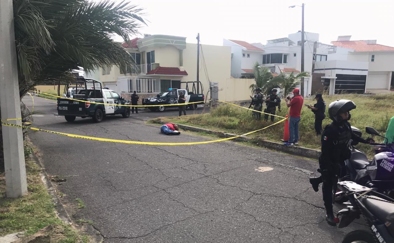 En ataque armado hombre pierde la vida en Boca del Río
