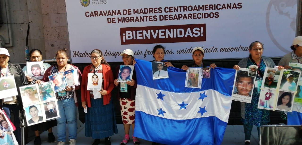Llega a Xalapa la Caravana de Madres Centroamericanas