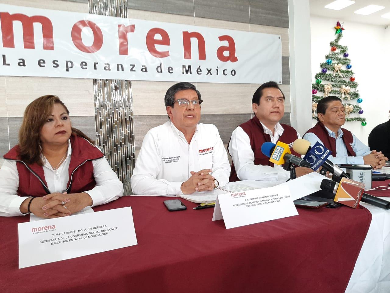 Comité de Morena justifica feminicidios, no sólo es responsabilidad del gobierno