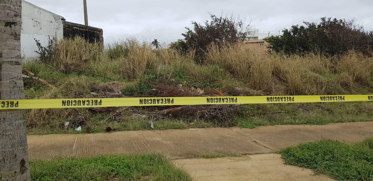 Niños que iban a jugar al parque hallan cadáver, en Coatza