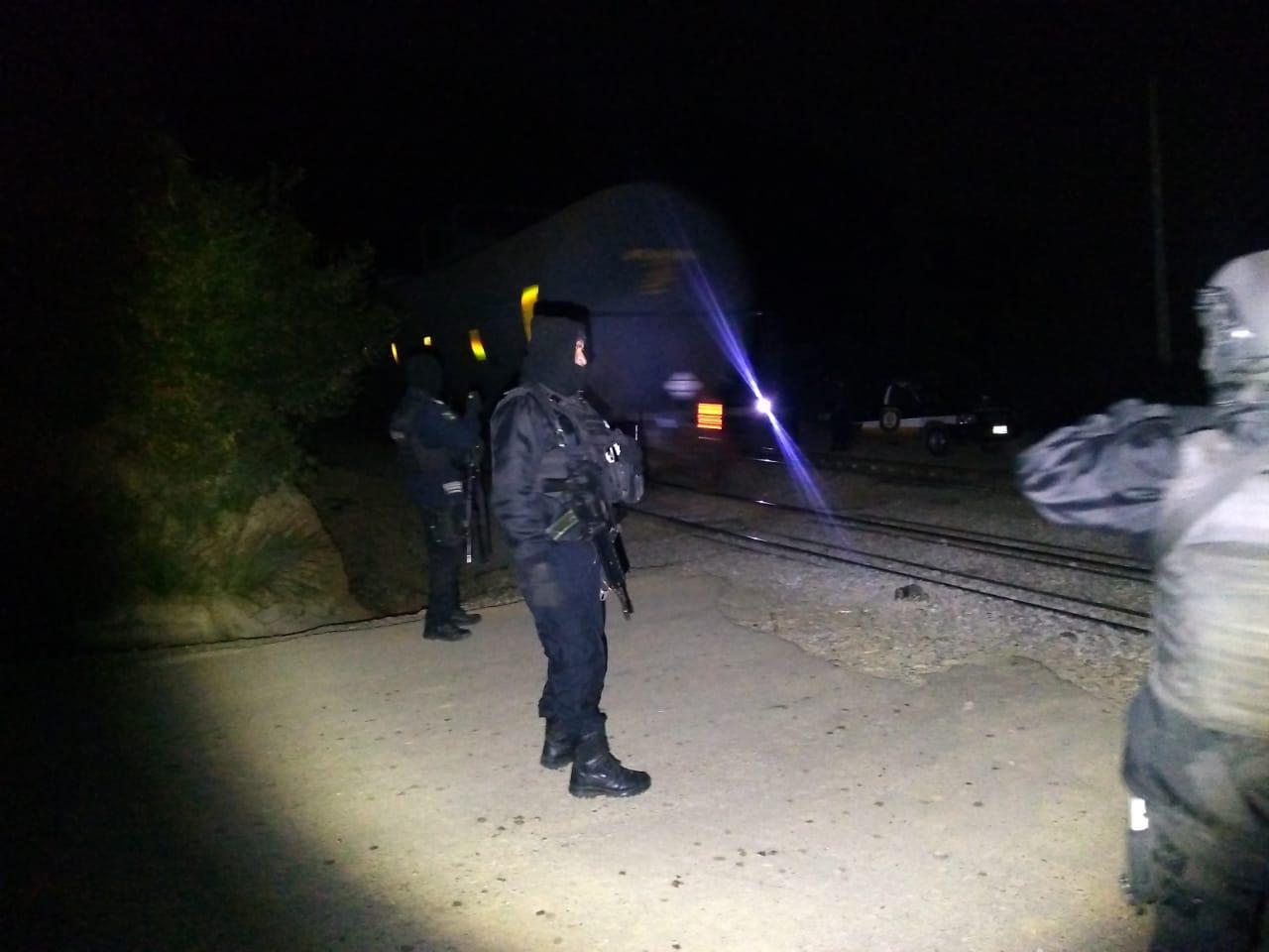 Frustra IPAX intento de asalto a tren en Nogales