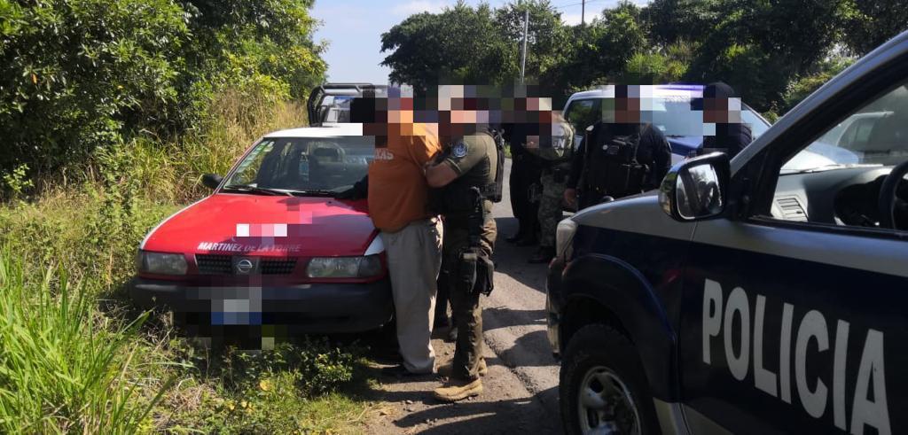 Detienen a taxista, presuntamente ejecutaba secuestro en Martínez