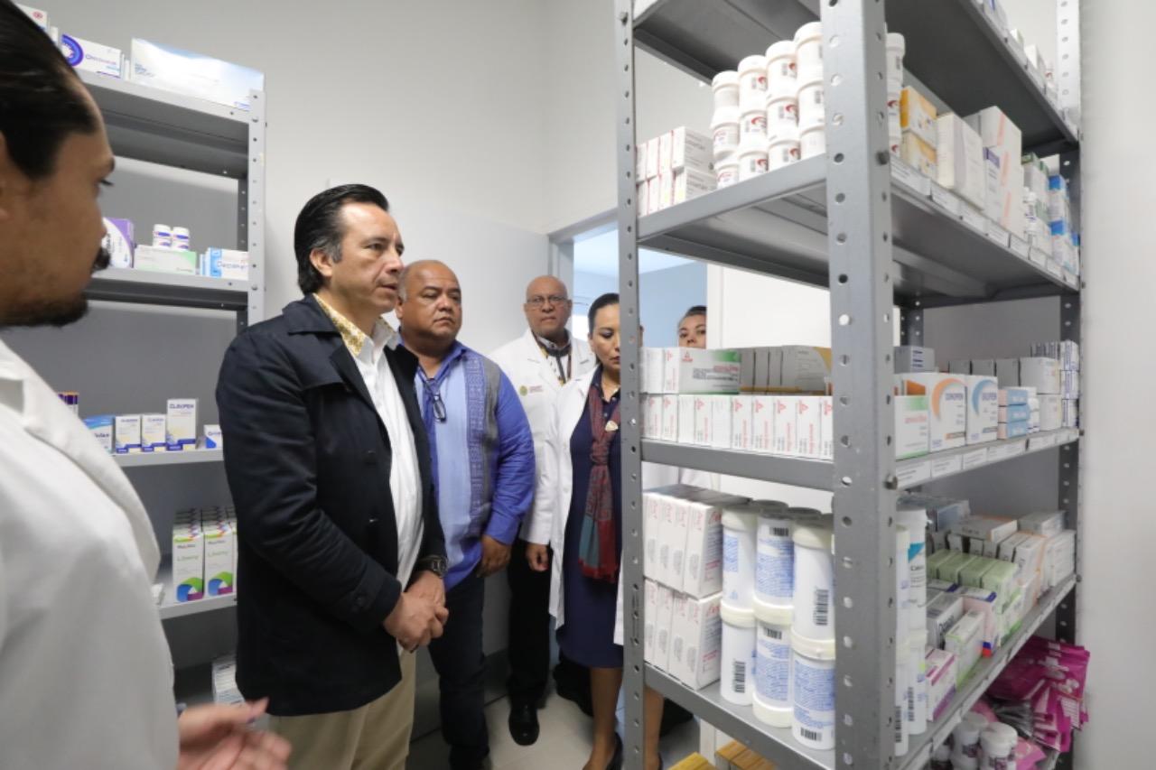 Inaugura Cuitláhuac García un Centro de Salud más, ahora para Casitas