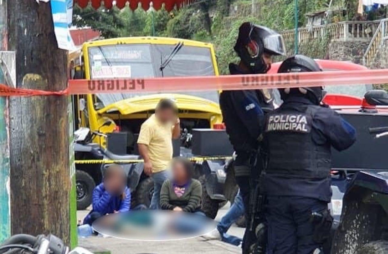 Tomate habría provocado muerte de transeúnte, en Xalapa