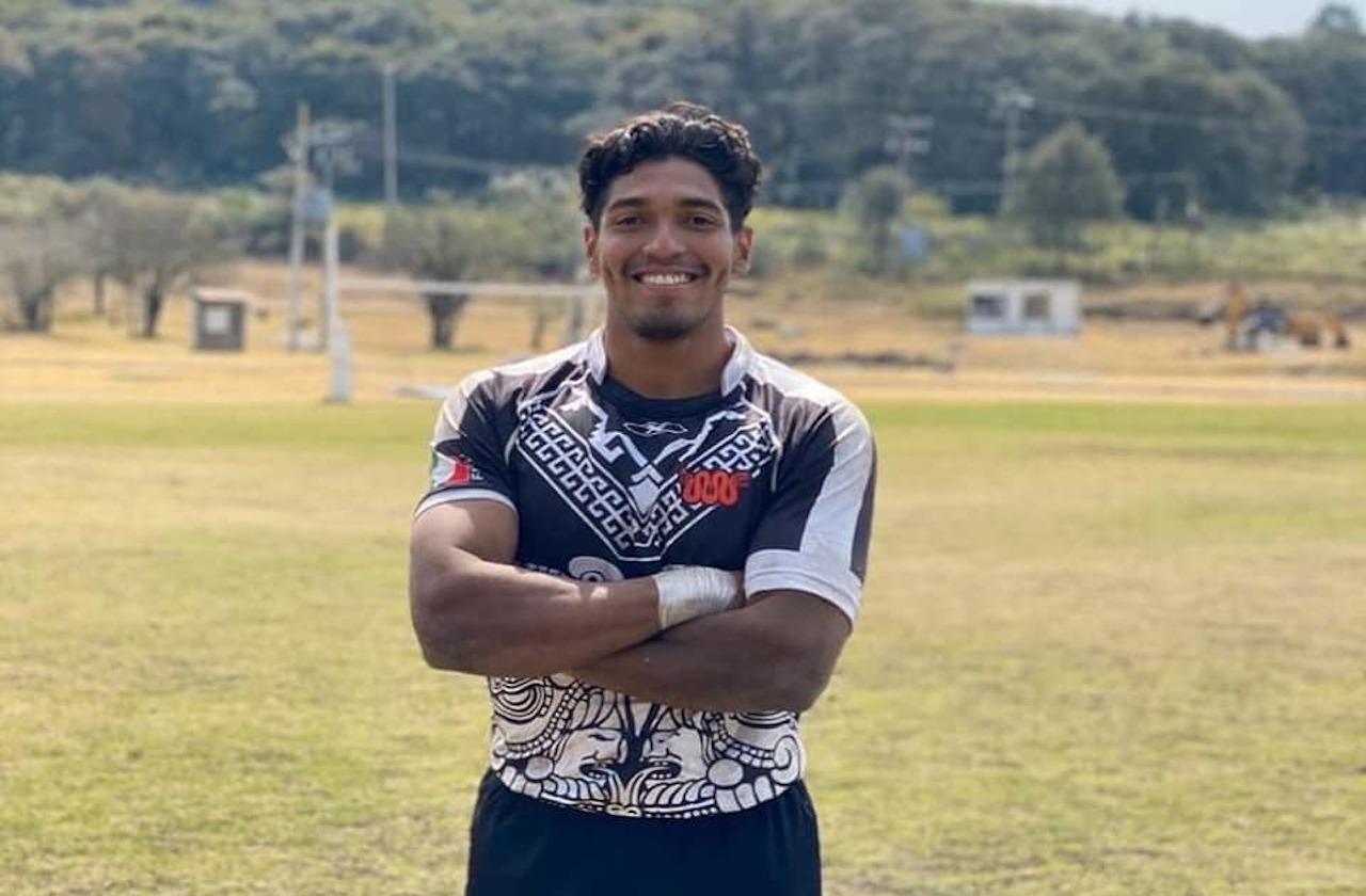 Ángel hace historia con la Selección Mexicana de Rugby