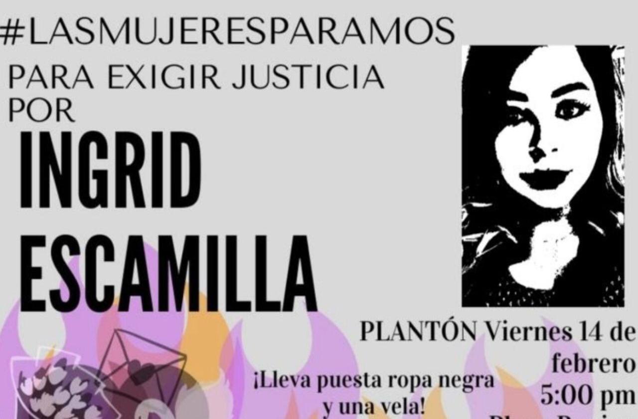 Reiteran llamado a protestar en Xalapa por feminicidio de Ingrid Escamilla