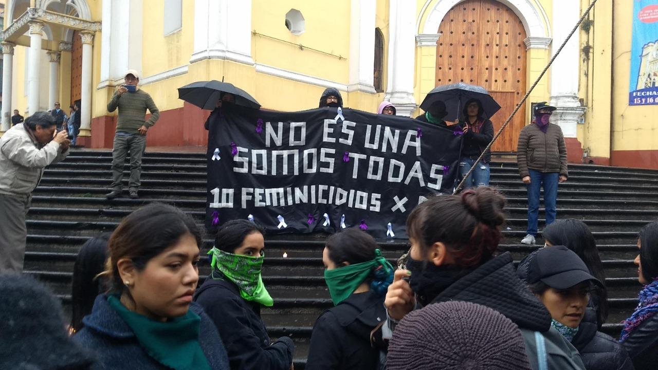 Exigen justicia para Ingrid y todas las mujeres víctimas de feminicidio