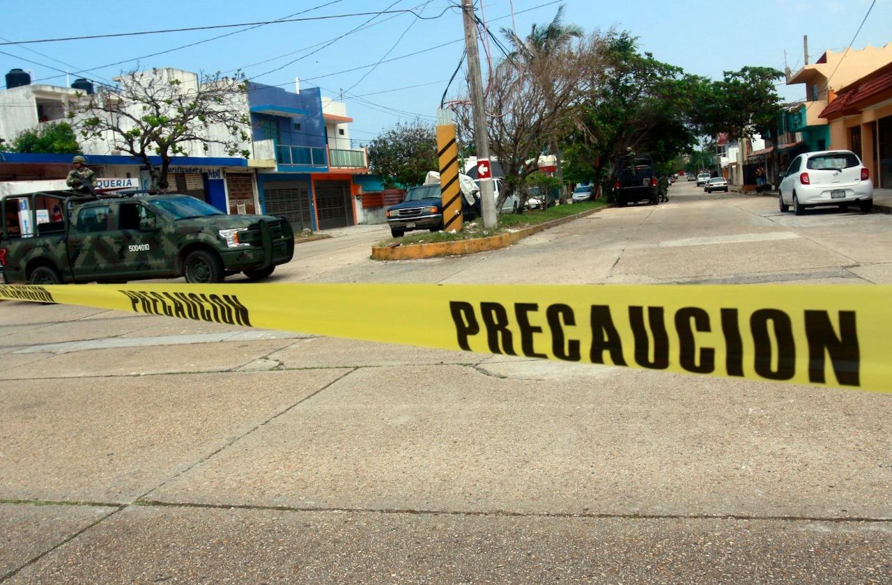 Localizan presunta casa de seguridad en Coatzacoalcos