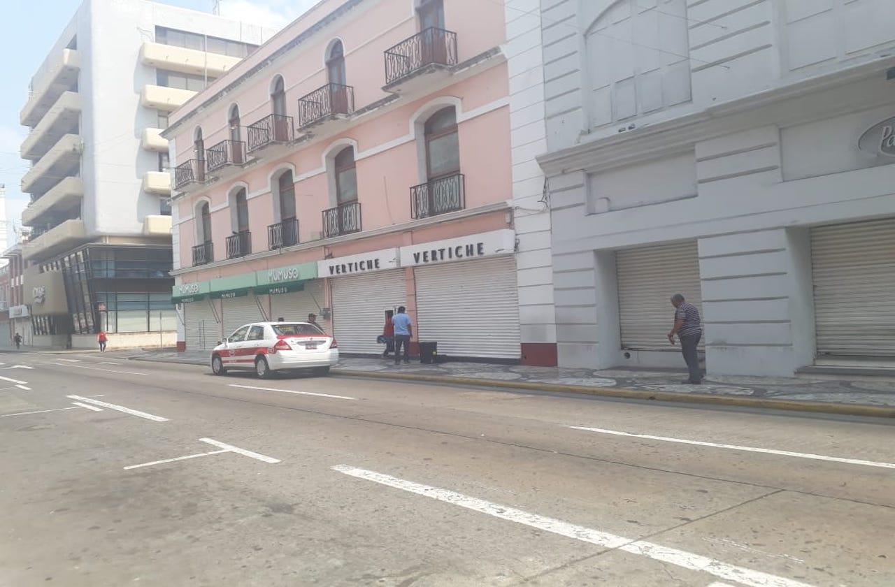 Comercios de Veracruz, sin panorama alentador por covid-19