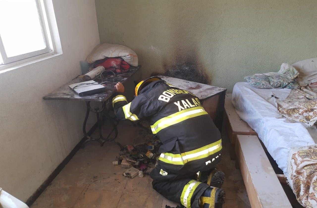 PC atendió dos incendios en Xalapa