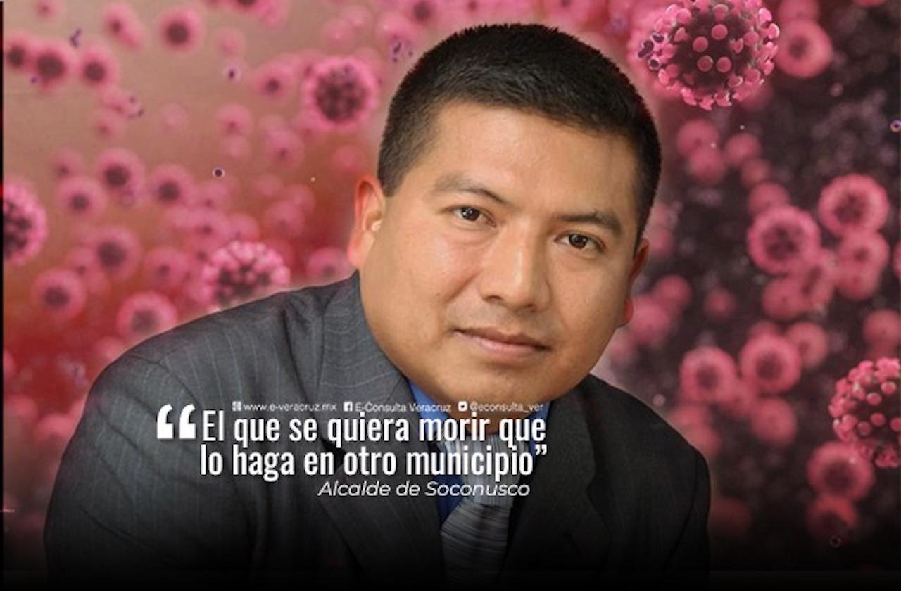 Alcalde defiende decreto que prohíbe muertes por covid y organiza feria virtual