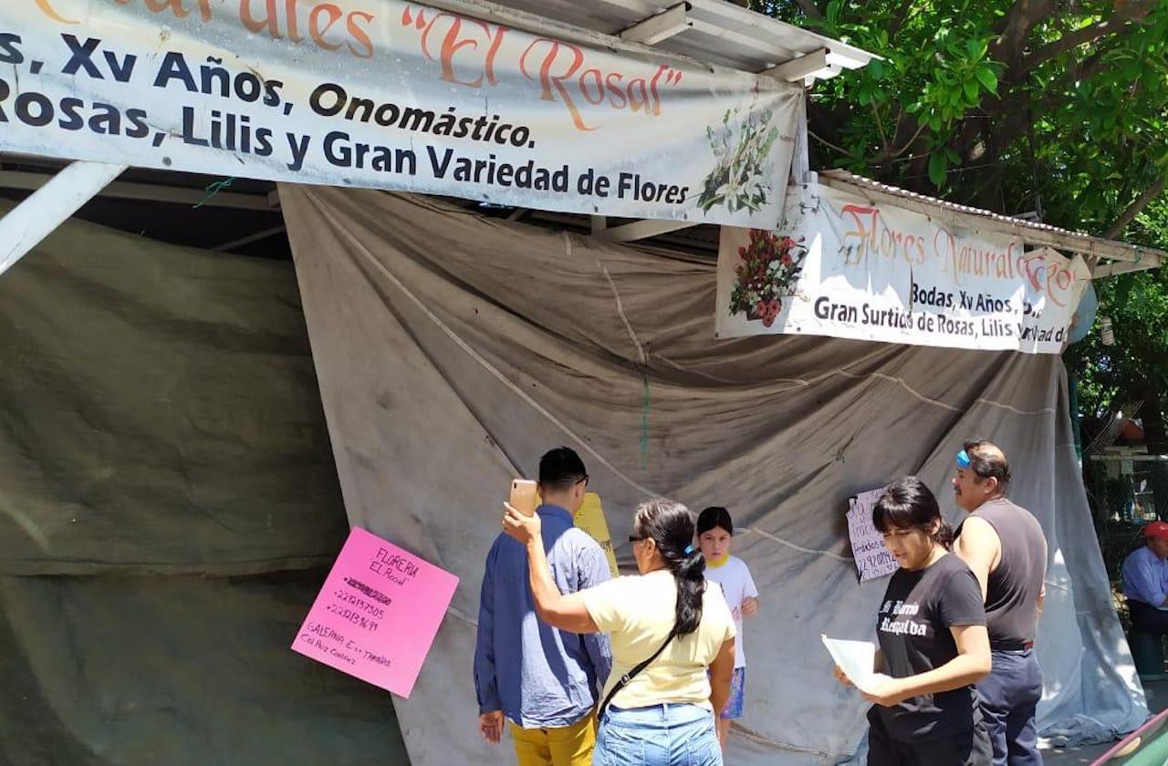 Así lució mercado de flores del parque Cri-Cri el Día de las Madres