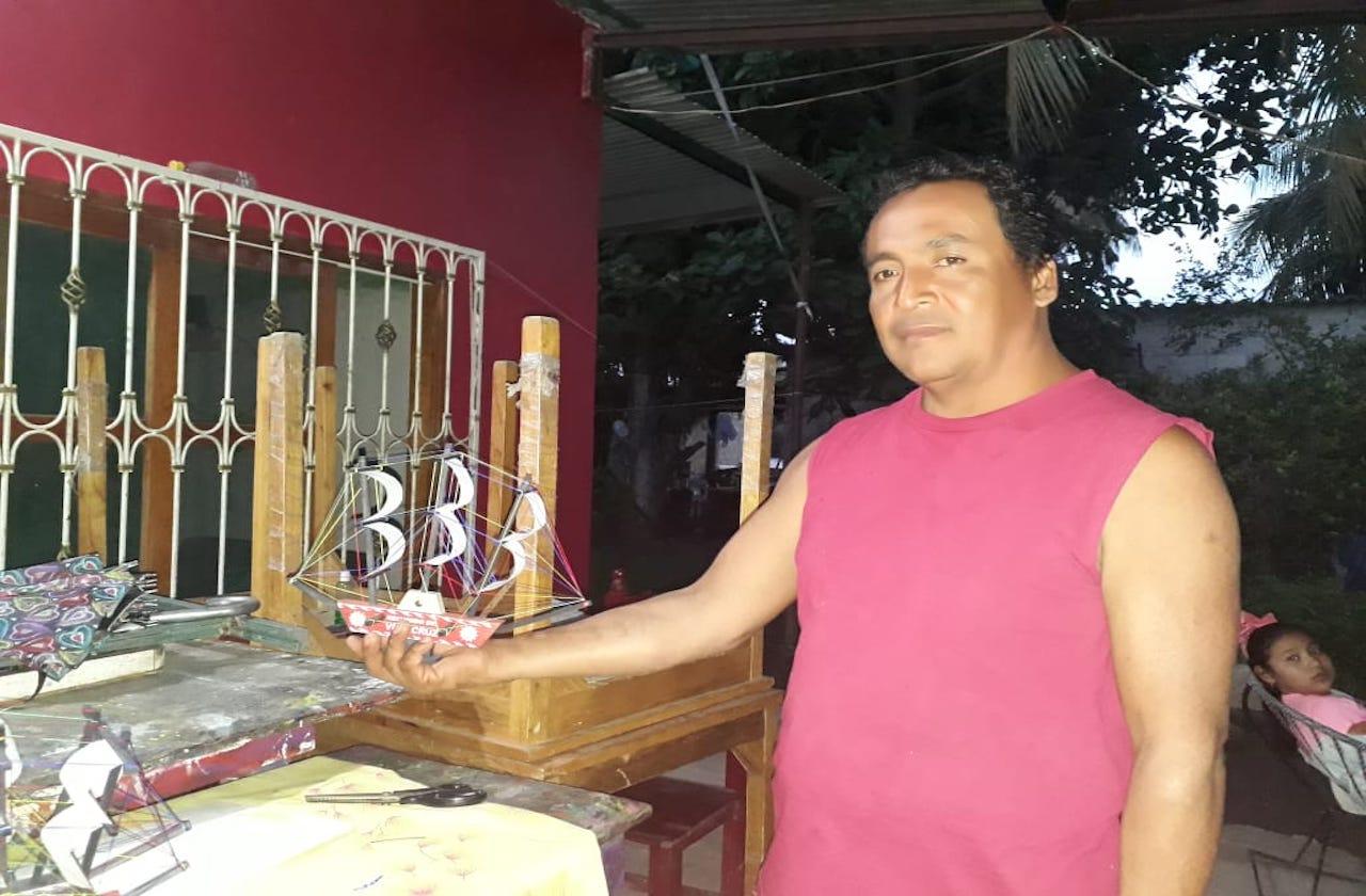 Barcos de madera, el negocio de Joaquín mermado por covid