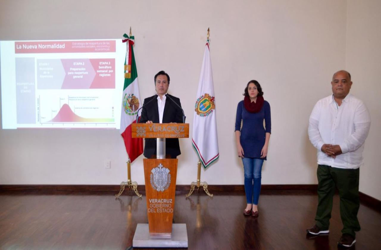 Por covid, Cuitláhuac anuncia medidas emergentes para 23 municipios